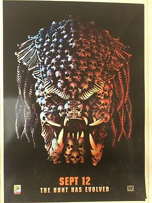 Exclusive Predator Odeon A4 poster 2018