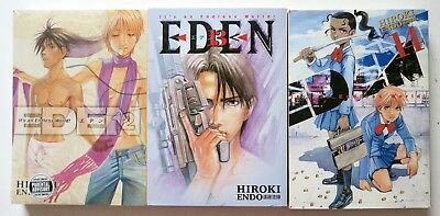 Eden It's An Endless World Hiroki Endo 13 14 15 NEW Manga Novel Anime Comic Book