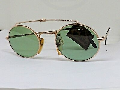 West Coast Occhiali Da Sole Uomo Vintage 90 Made Italy Brille Sunglasses Verde