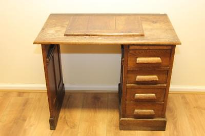 Gorgeous Antique Solid Oak Childs Desk - For Refurbishing