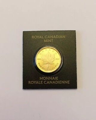 2017 Canadian 1 Gram Gold Coin