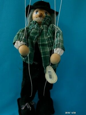 Scarecrow Puppet Marionette by Discoveries