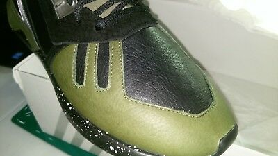 separation shoes 38fa5 9f1cc ... clearance adidas tubular runner olive green black leather mens shoes  size 11.5 e9347 2da4d