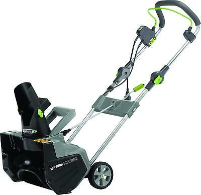Earthwise Corded Electric 13.5 AMP Snow Thrower/ 18-Inch Snow Blower - NEW