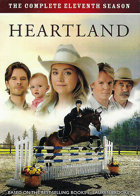 Heartland: The Complete 11th Season (5 - DVD Disc Set) Brand New