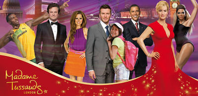 4 X Madame Tussauds London Tickets for Sunday, 10 February 2019 @ 09:45am