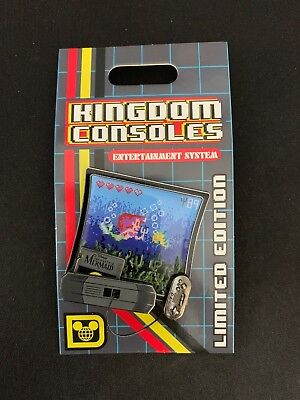 Disney Pin of the Month Kingdom Consoles Little Mermaid LE 4000