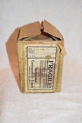 Edison Cylinder Blank Phonograph Recording Blank In Box To Record On