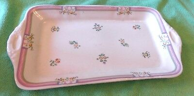 Beautiful Laura Ashley Alice Pattern Oblong Sandwich Tray. Immaculate.