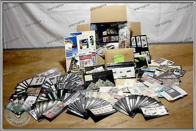 1.8 Kg Large Box Of World Stamps Loose FDC Stock Cards Sheets More Kiloware #30