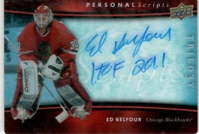 2018-19 Upper Deck Trilogy Ed Belfour Personal Scripts #ps-Eb