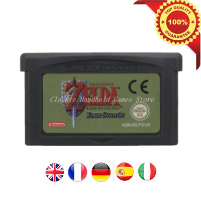 The Legend of Zelda A Link to the Past & Four Sword Eespañol Game Boy Advance