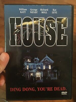 House Anchor Bay DVD, 2002 Horror Cult Film Steve Miner Slasher Roger Cobb OOP