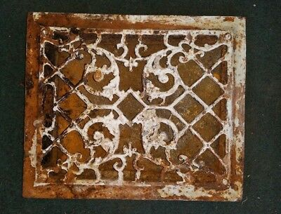 Antique Heater Grate Vent Cover Floor Furnace