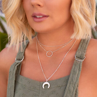 City Beach Karyn In La Simple Horn Necklace Pack