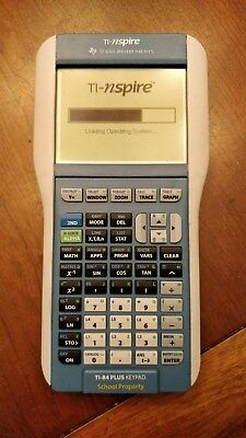 Texas Instruments TI-84 Nspire Graphing Calculator. BOTH keypads