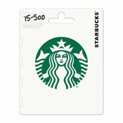 $20 Starbucks Gift Card(1 $15 and 1 $5)