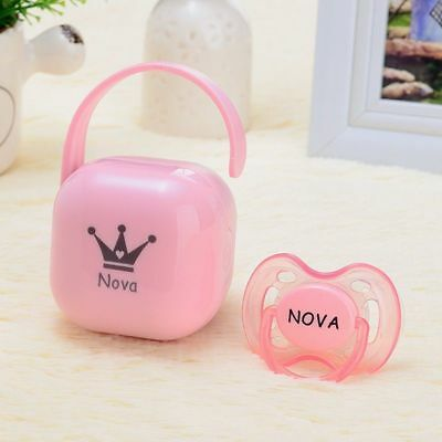 Pacifier Storage Container Soother Boxes Nipple Dust-proof Gift For Baby Shower