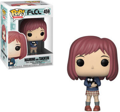 Flcl - Mamimi W/ Takkun Black Cat - Funko Pop! Animation: (2019, Toy NEUF)