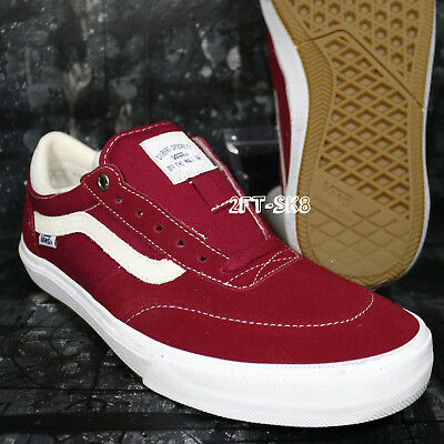 bbf216b0a3 Vans Gilbert Crockett Pro Chili Pepper White Men s 9.5 Skate Shoes  S91090.374