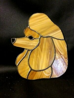 Stained Glass  Show Poodle