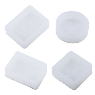 4x Water Ripple Silicone Molds DIY Jewelry Making Necklace Resin Craft Mould