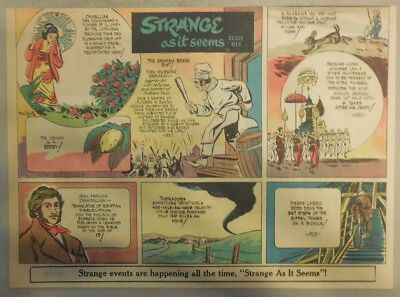 Strange As It Seems: Sylvester Graham (Cracker), King of Siam by Hix from 1951