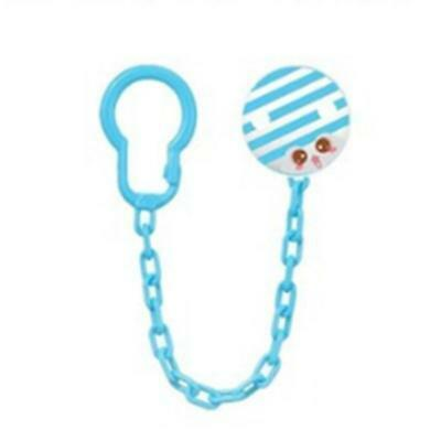 Dummy Clip Pacifier Chain Dummie Binky Baby Gift Clips Soother Holder LIN