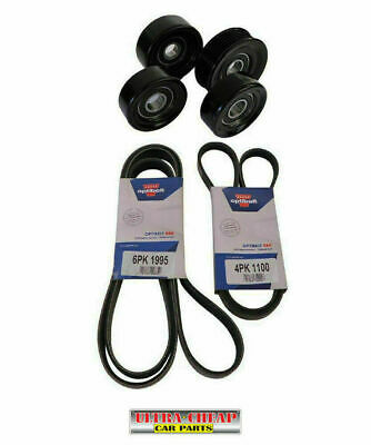 Drive Belt & Pulleys For Holden Commodore VT VU VX VY VZ 5.7L V8 GEN 3 LS1 SS