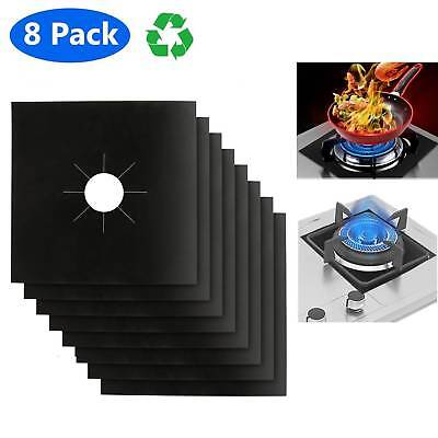 Protector Reusable Liner Clean Cook Non-stick Cover 8 Gas Range Stove Top Burner