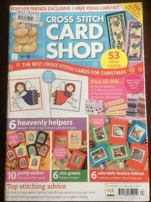 Cross Stitch Card Shop Magazine Issue 63 Christmas