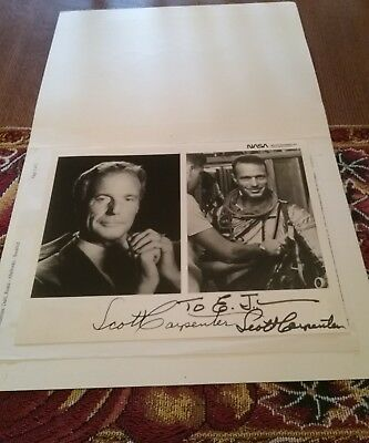 Scott Carpenter -  Photograph Signed