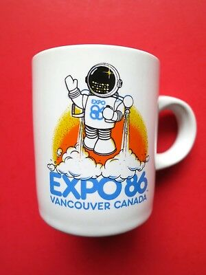 1986 EXPO Vancouver Souvenir Mini CUP Unused Ex.Cond.Holds approx. 2.33 ounces!
