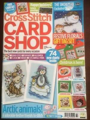 Cross Stitch Card Shop Magazine Issue 80 Christmas