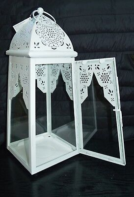 Large Moroccan Style Lantern Metal Candle Lantern Patio Events Parties & Wedding
