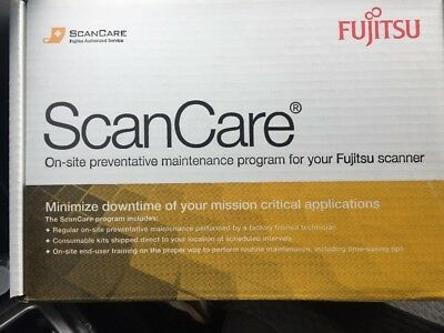 NEW SEALED Original Fujitsu Fi-6670 6770 Series Scancare Kit CG01000-527501