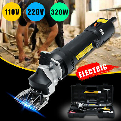 320W 6 level Electric Shears Shearing Clipper Animal Sheep Goat Pet Farm