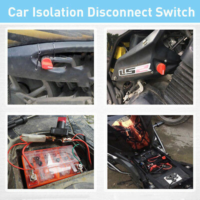 100A Battery Disconnect Power Cut Off Kill Selector Switch For RV Boat Car Van Y
