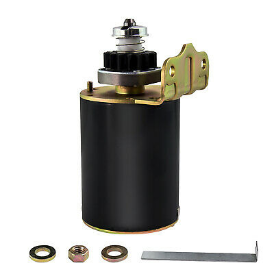 Starter Motor for John Deere Briggs & Stratton 16TH Heavy Duty and Ride on Mower