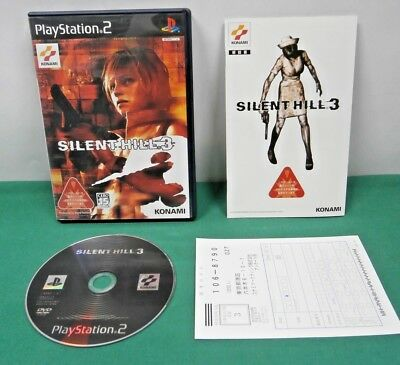 PlayStation2 -- Silent Hill 3 -- with a postcard. PS2. JAPAN GAME. 39524