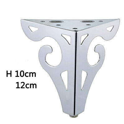 Furniture Table Legs Load 4Pcs Metal Tapered DIY Durable Strong 14//15//20//25//30CM