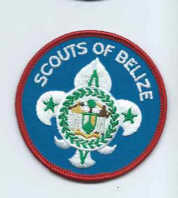 Boy Scout Scouts of Belize Patch