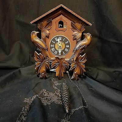 VINTAGE Cuckoo Clock by Cuckoo Clock Manufacturing Company - West Germany