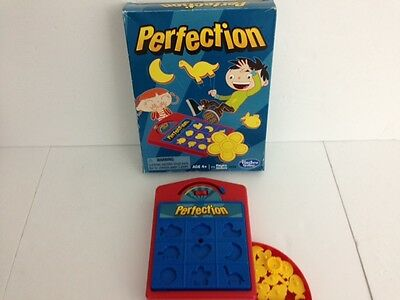 PERFECTION Travel Shapes Board Game - Hasbro Gaming