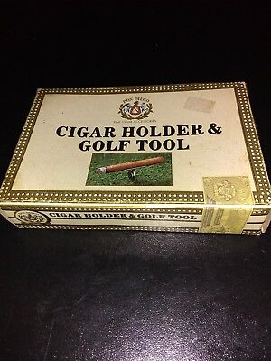 Don Diego Cigar Holder And Golf Tool, New In Box