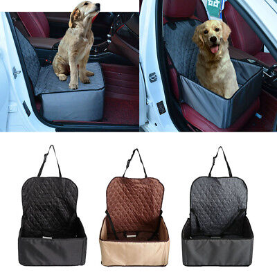 Pet Dog Puppy Car Booster Seat Waterproof Travel Safety Seat Box Travel