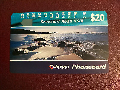 Mint $20 Landscapes II Crescent Head NSW Phonecard Prefix 462