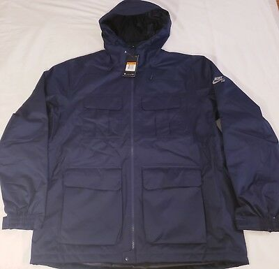 Details about NIKE SB EMPIRE SNOW SNOWBOARDING JACKET OBSIDIAN BLUE Size Small