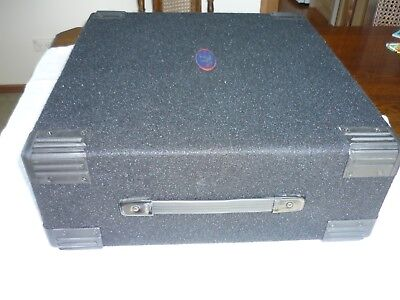 3RU Carpeted Equipment Rack Sleeve Road Case in Perfect Condition
