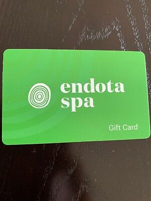 Endota Spa Gift Card $50 Expires 10/2019